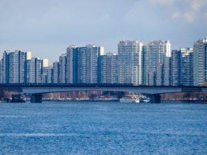 Plattenbau i Moskva